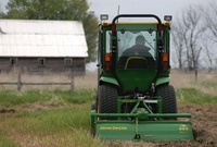Highlight for Album: Preparing the Soil in Cresbard, SD - 5/23/04